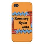 Romney Ryan 2012 iPhone 4/4S Funda