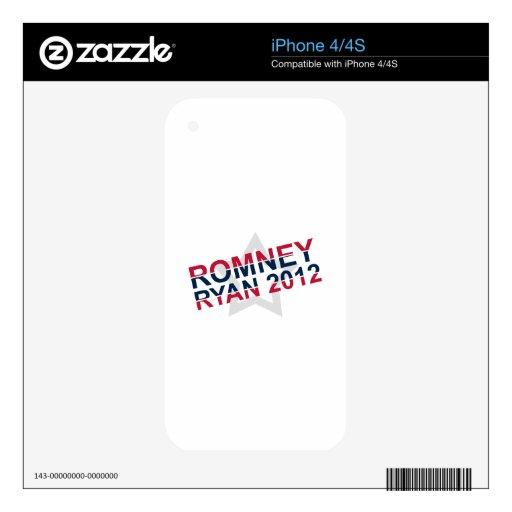 Romney Ryan 2012 iPhone 4 Skins