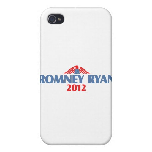 Romney Ryan 2012 Covers For iPhone 4