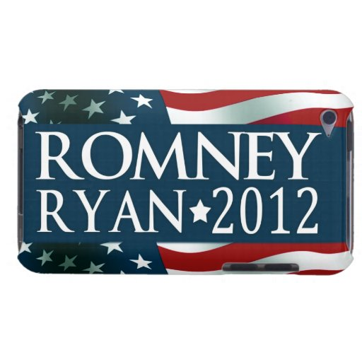 Romney Ryan 2012 iPod Touch Cover