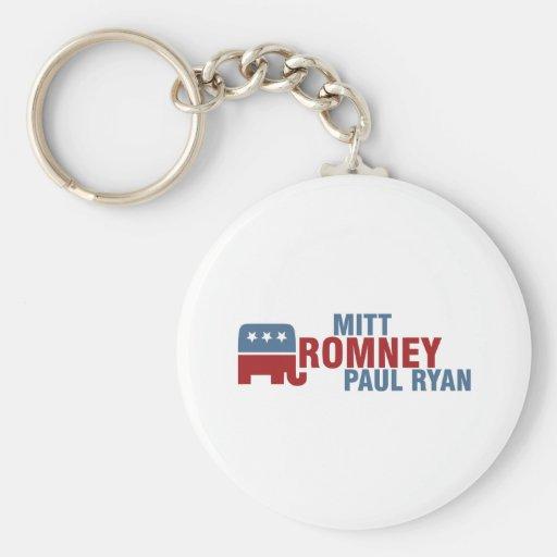 Romney Ryan 2012 Keychains
