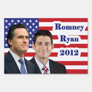 Romney Ryan - 2012 Lawn Sign