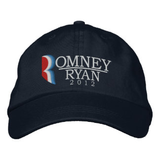Romney/Ryan 2012 Letter R Embroidered Hat