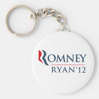 Romney Ryan 2012 Llaveros