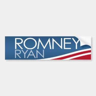 Romney Ryan 2012 - moderno Pegatina Para Auto