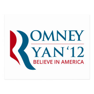 Romney/Ryan 2012 para el presidente de los E.E.U.U Postal