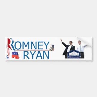 Romney/Ryan 2012 Pegatina Para Auto