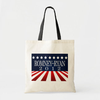 Romney Ryan 2012 Perspective Stripes Tote Bags