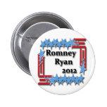 Romney Ryan 2012 Pin