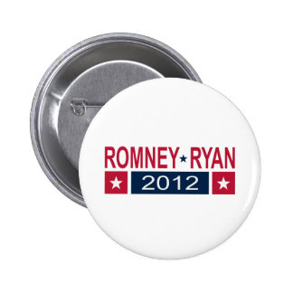 Romney Ryan 2012 Pins