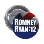 Romney Ryan 2012 Pinback Button