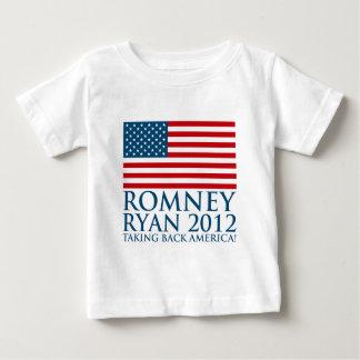Romney Ryan 2012 Playera De Bebé
