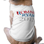 ROMNEY RYAN 2012.png Doggie Tee Shirt