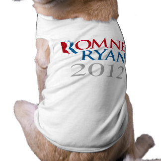 ROMNEY RYAN 2012.png Doggie Tshirt