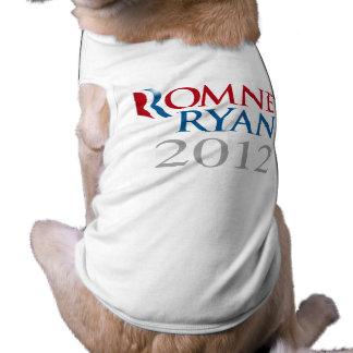 ROMNEY RYAN 2012.png Playera Sin Mangas Para Perro