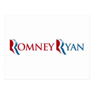 ROMNEY RYAN 2012 - png Post Card