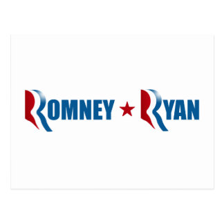 ROMNEY RYAN 2012 png Postcard