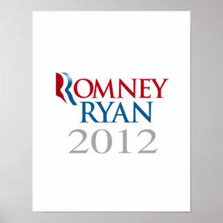 ROMNEY RYAN 2012.png Print