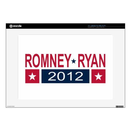 Romney Ryan 2012 Portátil Calcomanías