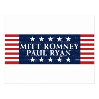 Romney Ryan 2012 Postales