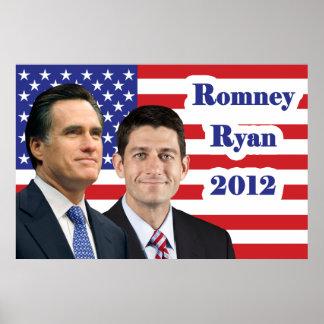 Romney-Ryan 2012 Póster