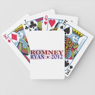ROMNEY RYAN 2012 president Bicycle Playing Cards