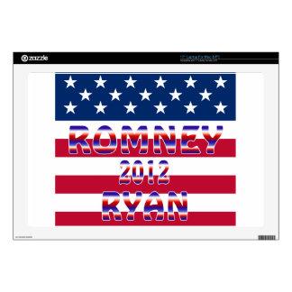 "Romney Ryan 2012 Presidential Election 17"" Laptop Decal"