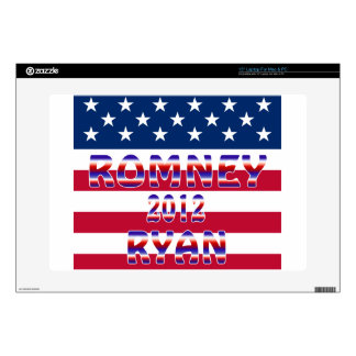 Romney Ryan 2012 Presidential Election Decal For Laptop