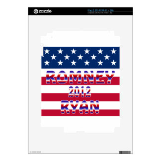 Romney Ryan 2012 Presidential Election Decal For The iPad 2