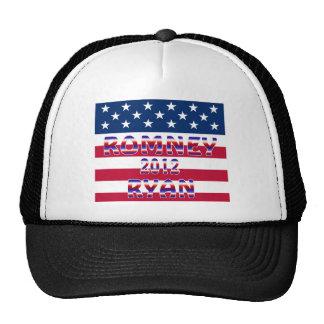 Romney Ryan 2012 Presidential Election Mesh Hats