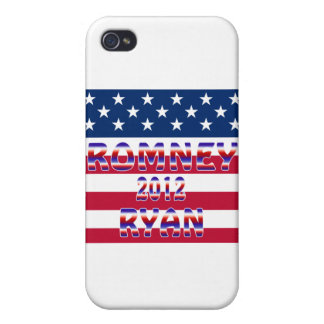 Romney Ryan 2012 Presidential Election Case For iPhone 4