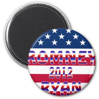 Romney Ryan 2012 Presidential Election Magnet