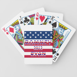 Romney Ryan 2012 Presidential Election Bicycle Poker Deck