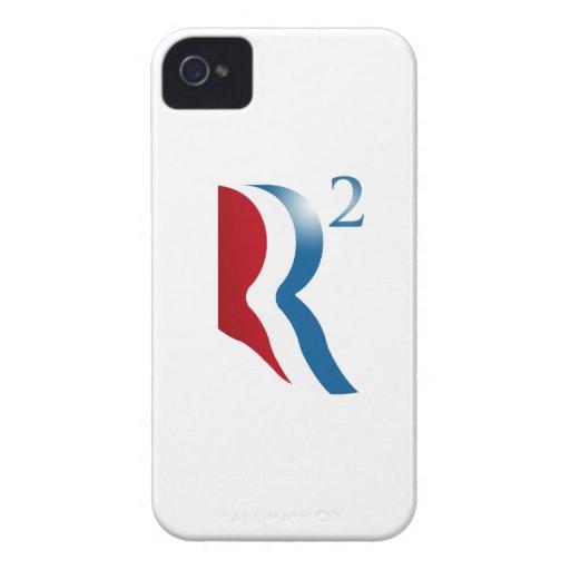 ROMNEY RYAN 2012 - R AJUSTADO iPhone 4 Case-Mate FUNDAS