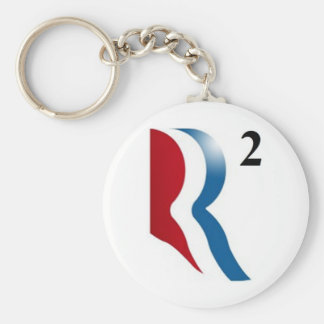 "Romney & Ryan 2012 - ""R squared"" Keychain"