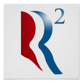 ROMNEY RYAN 2012 - R SQUARED POSTERS