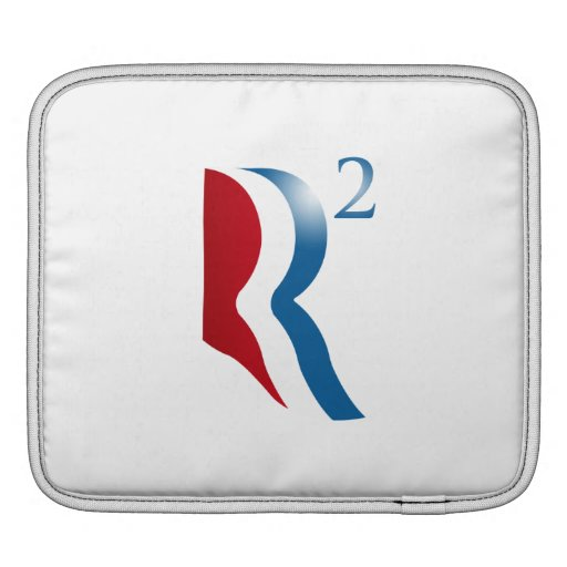 ROMNEY RYAN 2012 - R SQUARED SLEEVES FOR iPads