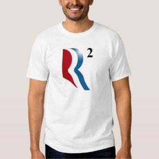 "Romney & Ryan 2012 - ""R squared"" T Shirt"