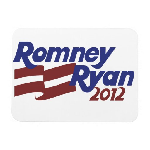 Romney Ryan 2012 Rectangular Photo Magnet