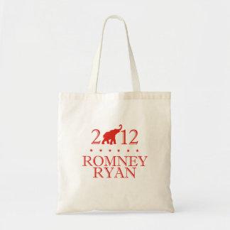 ROMNEY RYAN 2012 REPUBLICAN.png Bolsas Lienzo