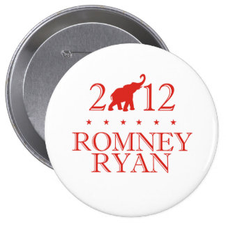 ROMNEY RYAN 2012 REPUBLICAN.png 4 Inch Round Button