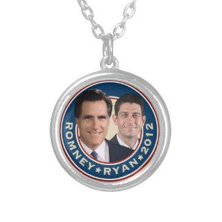 Romney-Ryan 2012 Round Necklace