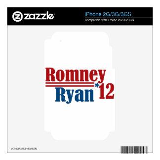 Romney Ryan 2012 iPhone 3G Decals