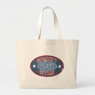 Romney Ryan 2012 sport vintage Bag
