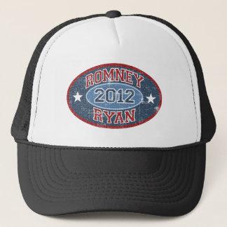 Romney Ryan 2012 sport vintage Trucker Hat