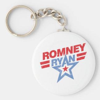 Romney Ryan 2012 star Keychains