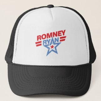 Romney Ryan 2012 star Trucker Hat