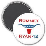 ROMNEY RYAN 2012 STEER.png Fridge Magnets