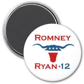ROMNEY RYAN 2012 STEER.png Magnet