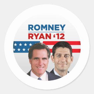Romney Ryan 2012 Sticker